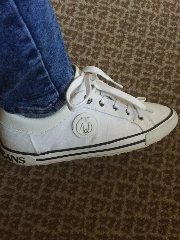 My Armani jeans trainers