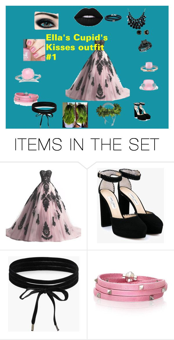 """""""Elizabeth's First Cupid's Kisses outfit"""" by sigma-lestrange ❤ liked on Polyvore featuring art"""