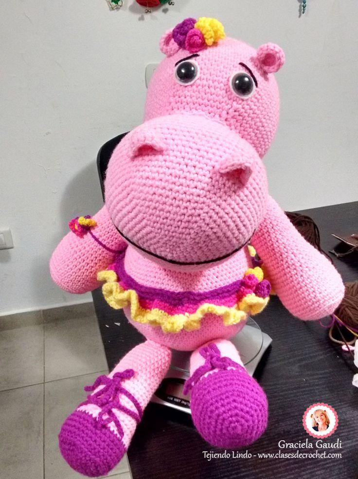 #Diy #Crochet #Amigurmus Hipo