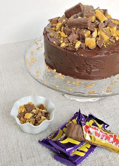 A sweeter take on coffee cake with all the same goodness and some added crunchie and chocolate flavor. Perfect for any special occasion or birthday cake.