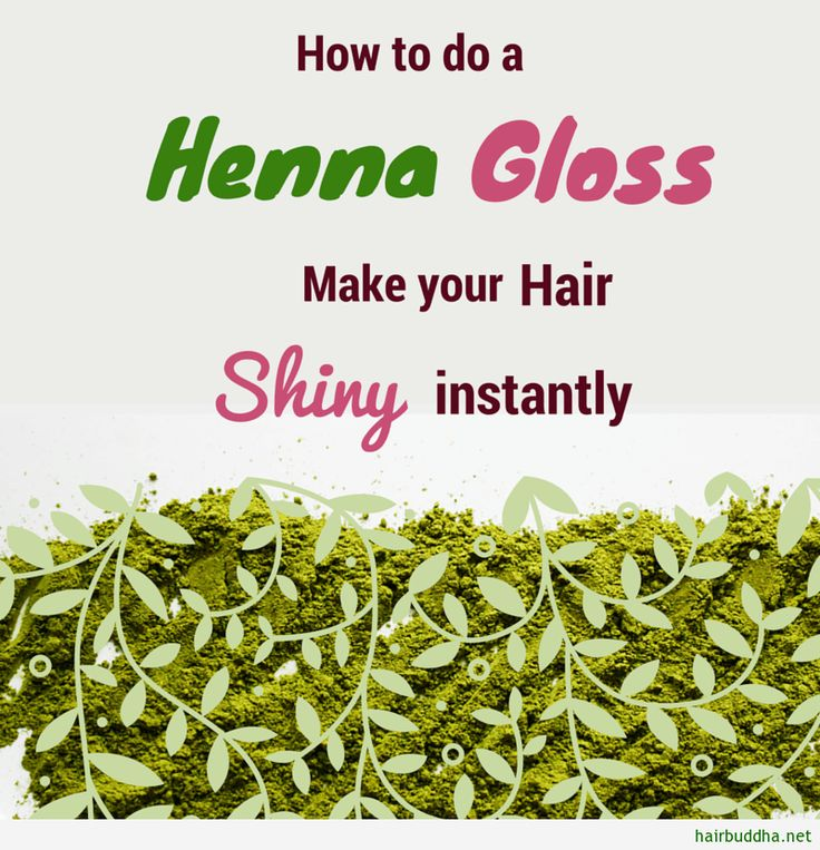 Do you want incredible shine and tint from henna? But without too much fuss, do a henna gloss. The gloss offers you conditioning with a subtle colour change
