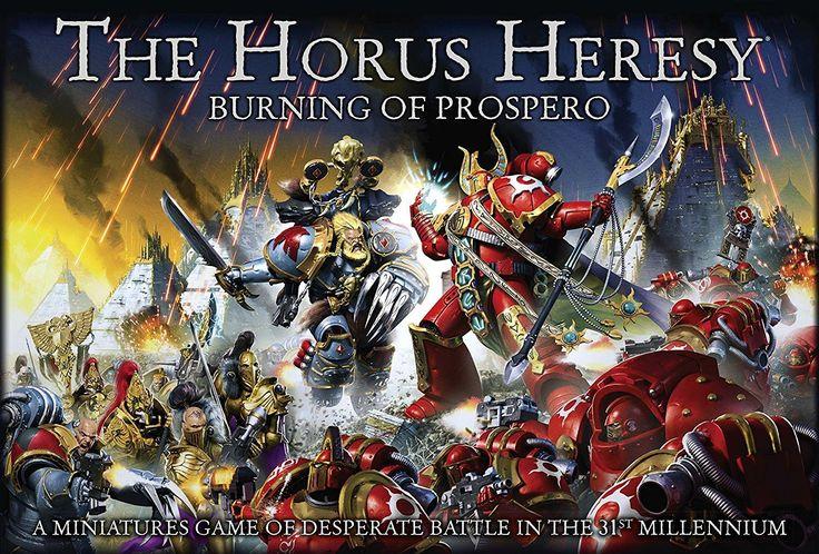 The Horus Heresy: Burning of Prospero Minatures Game