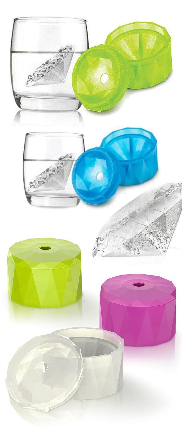 Diamond ice mold! #product_design