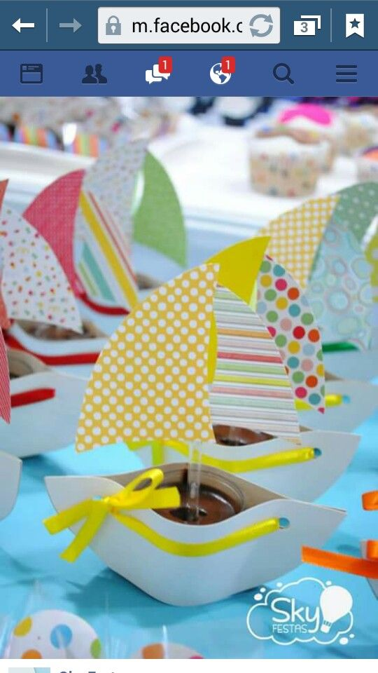 Spring or summer ocean sea beach themed sailboat ⛵️ themed party!! Sailboat relay race, craft, and a snack idea!!