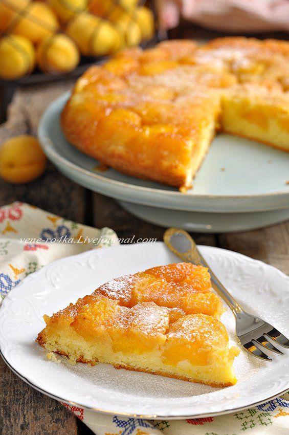 Сезон абрикосов в самом разгаре, цены на рынке уже приятные, поэтому, не только варим джемы/варенье, но и печём пироги!) Сегодня у меня простой по приготовлению, но…