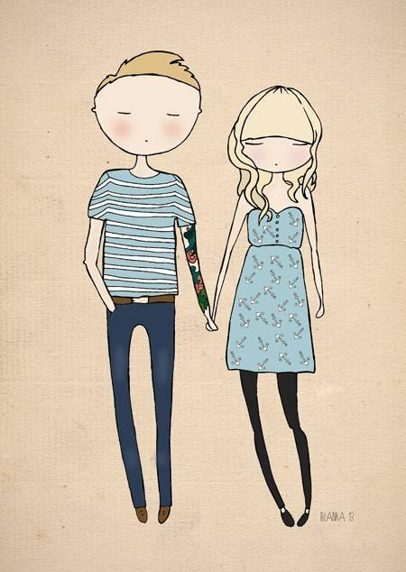 Couples illustration image 4