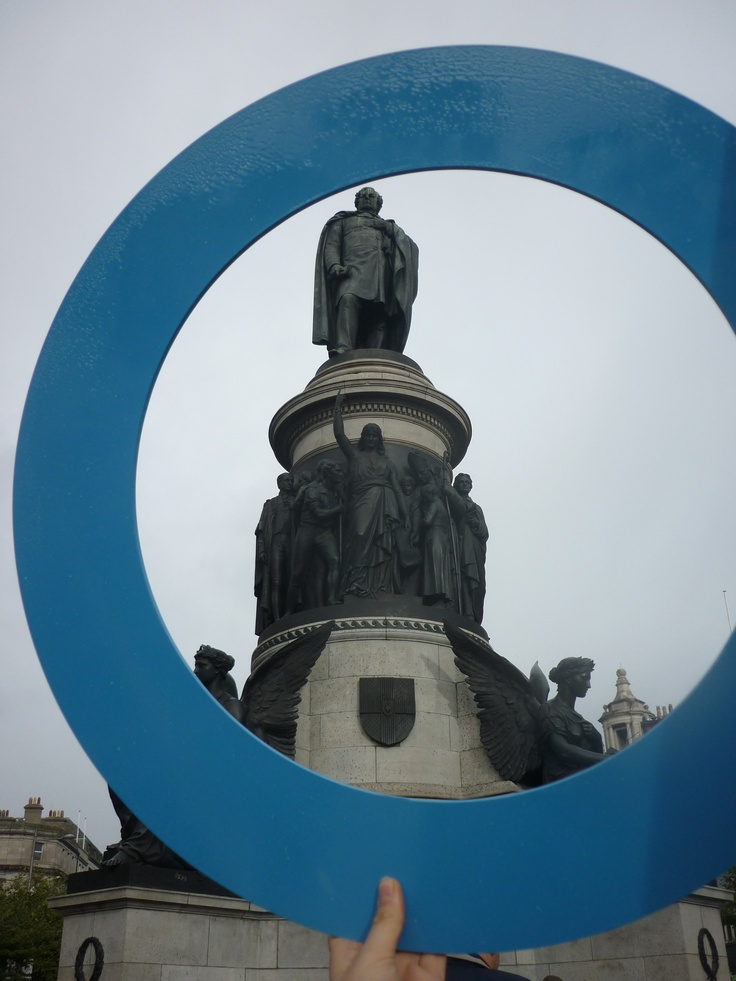 Blue Circle Campaign takes on Dublin!  Daniel O'Connell
