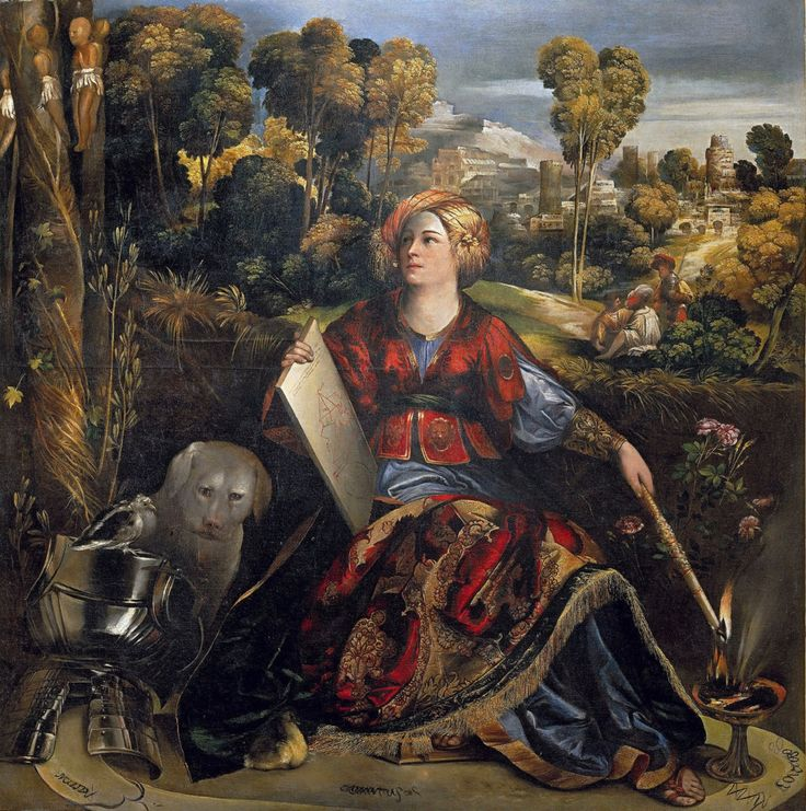 The Sorceress Circe, Dosso Dossi, ca. 1507