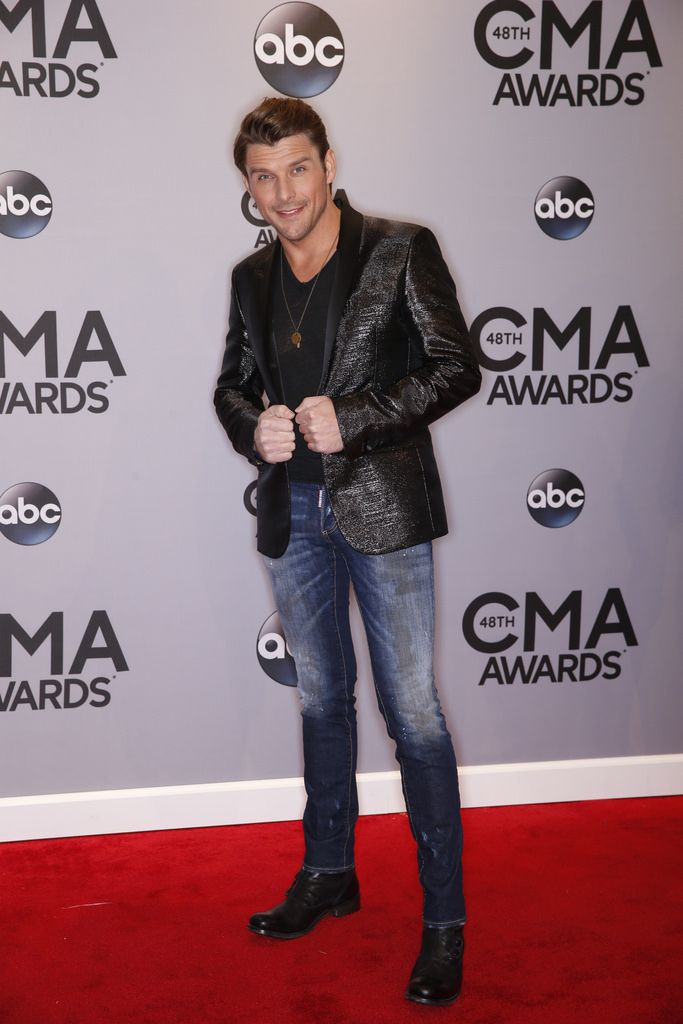"Robby Johnson walks the red carpet at ""The 48th Annual CMA Awards,"" live Wednesday, Nov. 5 at the Bridgestone Arena in Nashville and broadcast on the ABC Television Network. on CMA Awards http://www.cmaworld.com/cma-awards/social-gallery/robby-johnson-walks-the-red-carpet-at-the-48th-annual-cma-awards-live-wednesday-nov-5-at-the-bridgestone-arena-in-nashville-and-broadcast-on-the-abc-television-network"