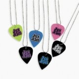 Pick Jesus Guitar Pick Necklaces (1 dz)