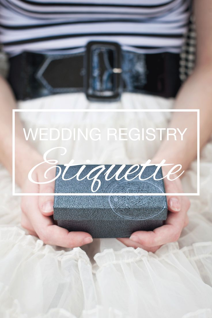 bridal shower invitations registry etiquette%0A Wedding Registry Etiquette    Should I put my registry information on my  invitations