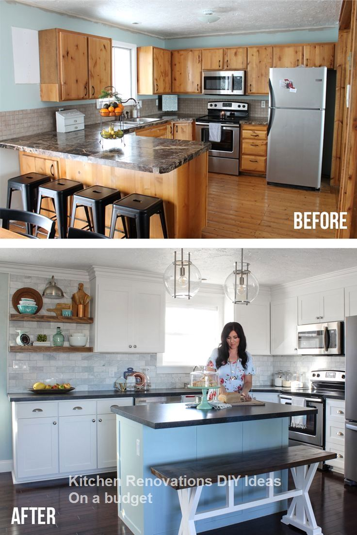 new diy kitchen renovations and makeovers ideas on a budget rh pinterest com