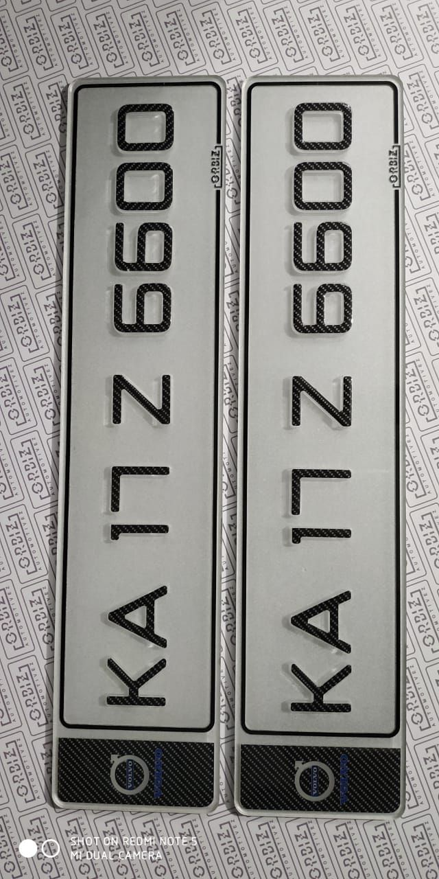 Crystal 3d Bike Number Plate In 2020 Number Plate Car Number