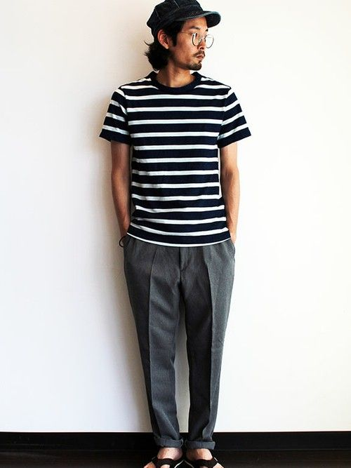 "twothings&thinkさんのキャップ「Sleepslope Denim Work "" DAMAGE BALL BIO ""」を使ったコーディネート"
