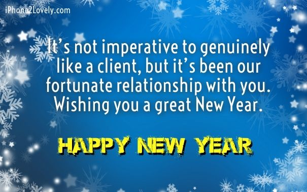 New Year Wishes For Business Partner | Happy New Year 2017 ...