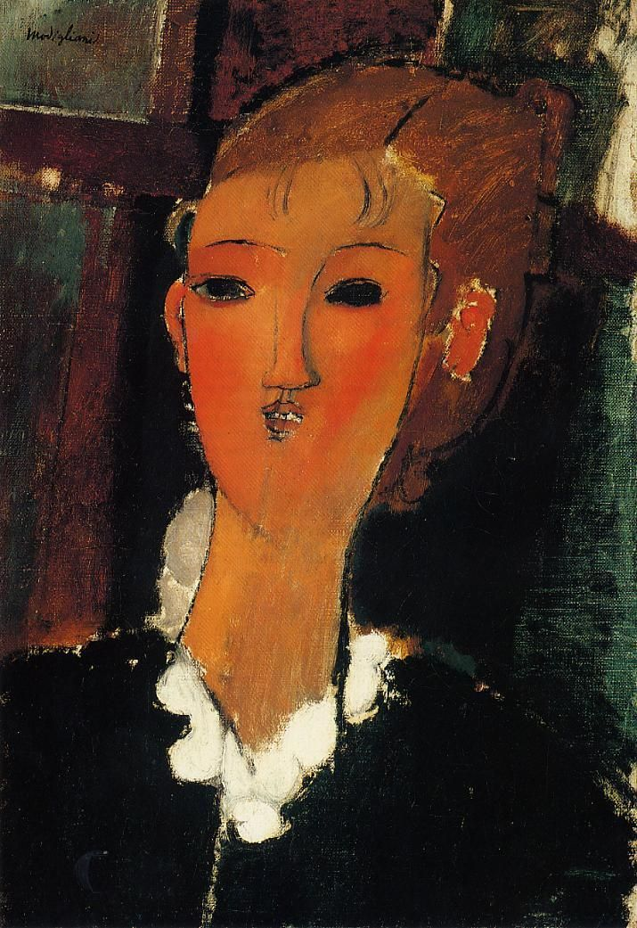 Woman With a Necklace - Amedeo Modigliani - WikiArt.org