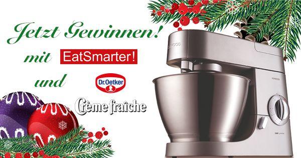 Macht mit bei dem Weihnachtsgewinnspiel von Dr. Oetker und EAT SMARTER!