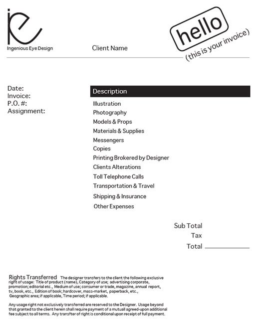 Sample Freelance Invoice Sample Service Invoice 10 Free Freelance Sample  Thank You Letter After Interview Letter Of Recommendation .  Invoice Layout Example