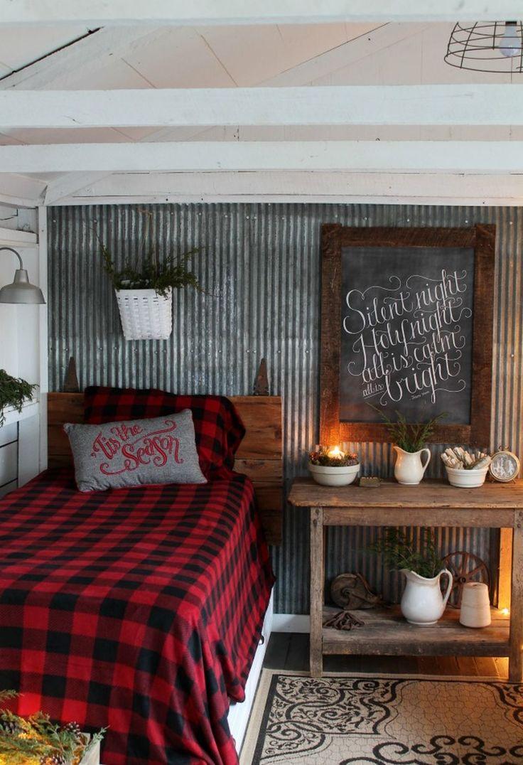 38 Cozy Cabin Bedroom Decoration Ideas 50