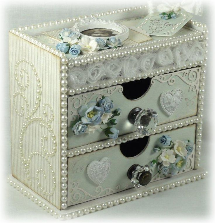 17 Best Images About Handmade Jewelry Boxes On Pinterest