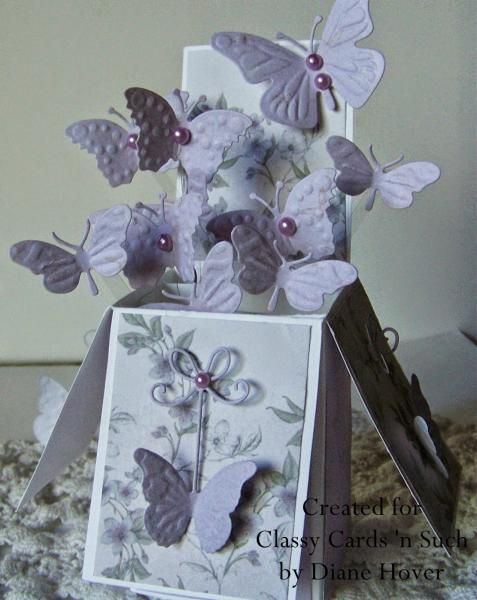 Birthday Butterflies by ClassyCards - Cards and Paper Crafts at Splitcoaststampers