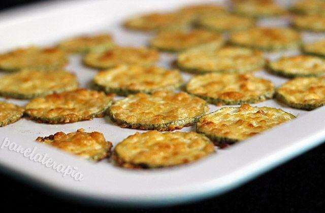 Chips de Abobrinha com Parmesão – Panelaterapia