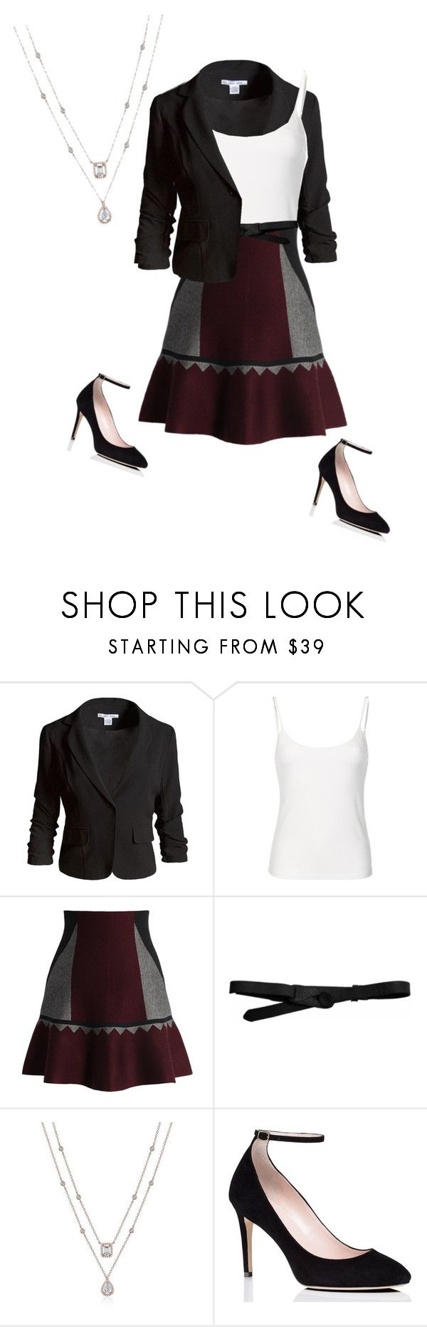 """""""Rebecca Bunch 1.3 {Crazy Ex-Girlfriend}"""" by sarah-natalie ❤ liked on Polyvore featuring Sans Souci, Chicwish, Lowie, Kate Spade, cw, crazyexgirlfriend and RebeccaBunch"""