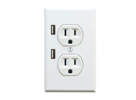 Finally! Electrical outlet & usb chargerinally! Electrical outlet