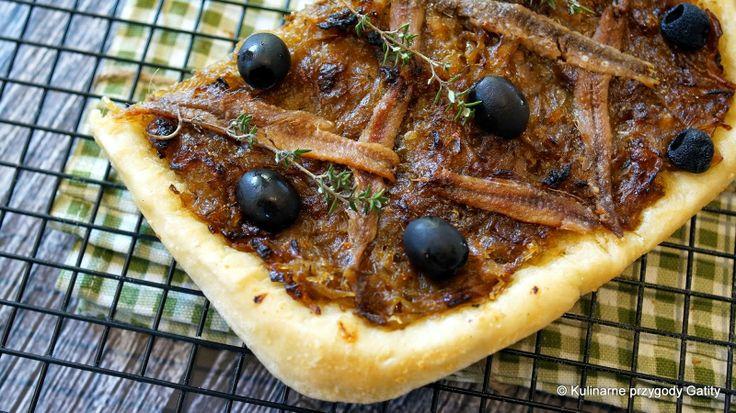 Pissaladiere, czyli prowansalski chlebek