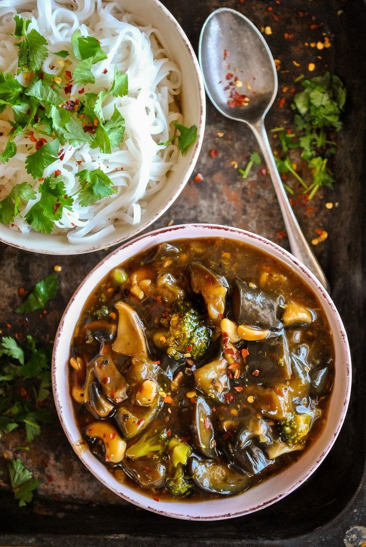 Vegan Chinese eggplant with spicy garlic sauce |VeganSandra - tasty, cheap and easy vegan recipes by Sandra Vungi