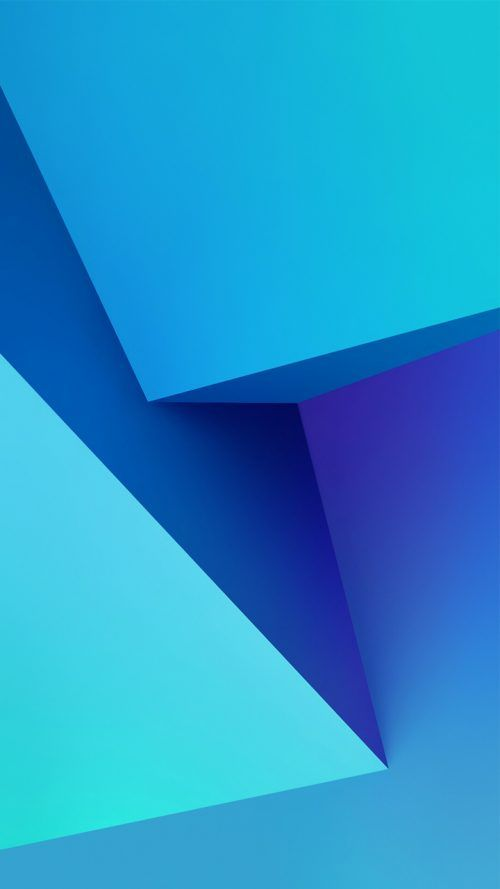Free Download Of Xiaomi Redmi 3s Prime Wallpaper With 3d Blue Boxes