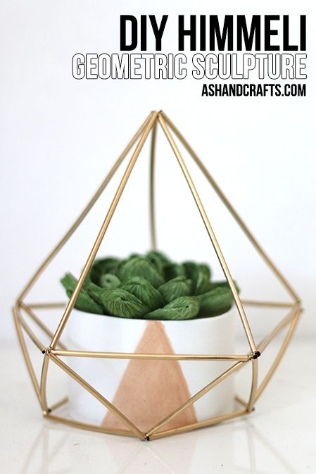 Himmeli Geometric Sculpture 3d Diy Projects For Bedroom