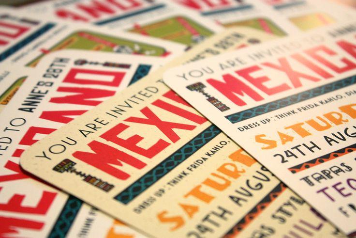 Mexicano Invitations on The Loop © Anne Nicholson
