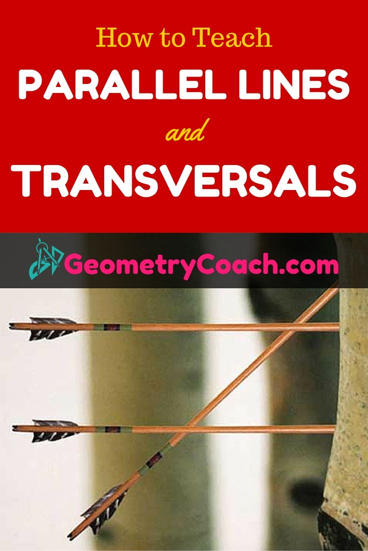 Parallel Lines and Transversals 654 best Hands On