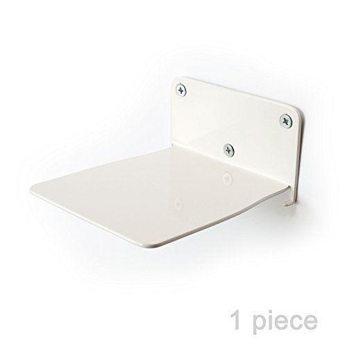 Étagère invisible pour les livres étagère de livre étagère murale en acier décoration métal bookstand étagères blanc Meilleures ventes…
