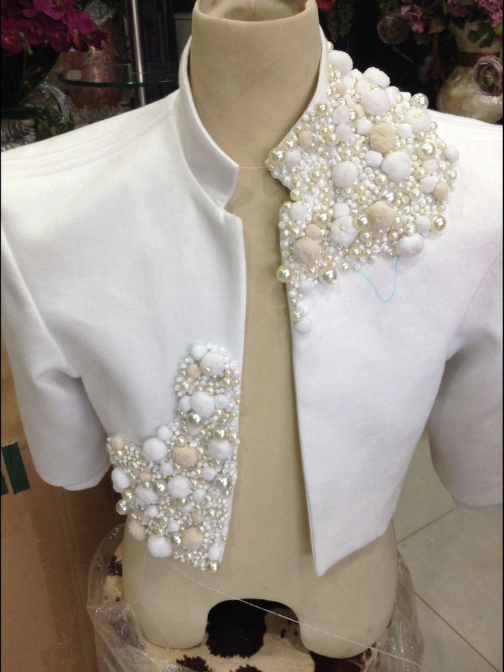 Pearl embroidery