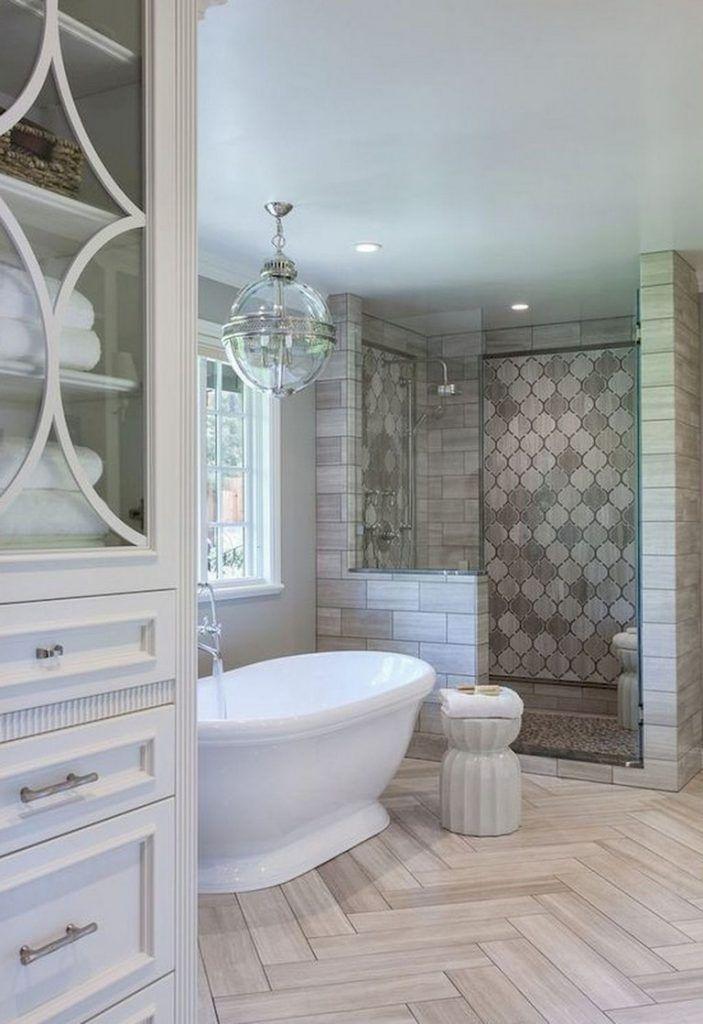 73 awesome farmhouse rustic master bathroom remodel ideas rh pinterest com