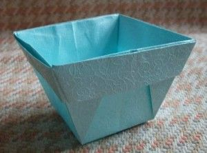 Origami Vase - Square Pot