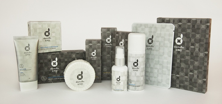 A fish collagen base anti-ageing skincare brand, domian