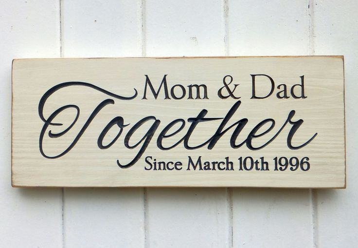 25 Year Wedding Anniversary Gift Ideas For Parents: 25+ Unique 25th Anniversary Gifts Ideas On Pinterest