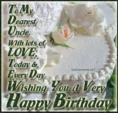 birthday wishes for a deceased uncle
