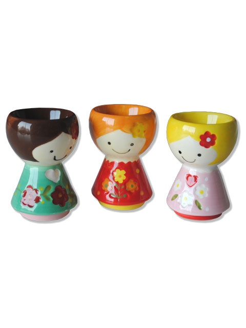 cute egg cupsCeramics Eggs, Cups 1 50, Cups Hunkydoryhom, Easter Eggs, Eggs Accessories, Eggs Cups, Cups 375, Girls Eggs, Milkmaid Eggs