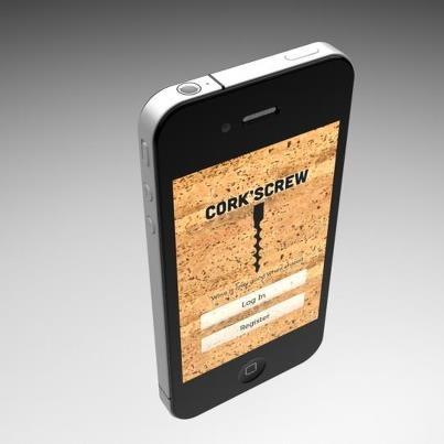 Cork'screw - iPhone App (work in progress) #terroir #gustavo #roseira #ios #app #wine #wineapp #winelover #winenetwork #socialwine