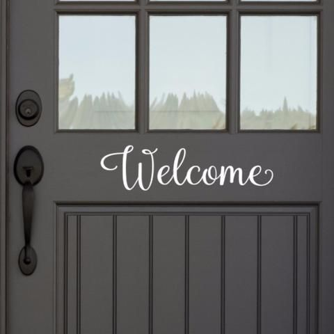 Place this on your front door or inside your home. Can also be used for weddings and parties. Wall decals...