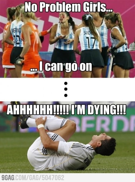 Field Hockey players are tough!!