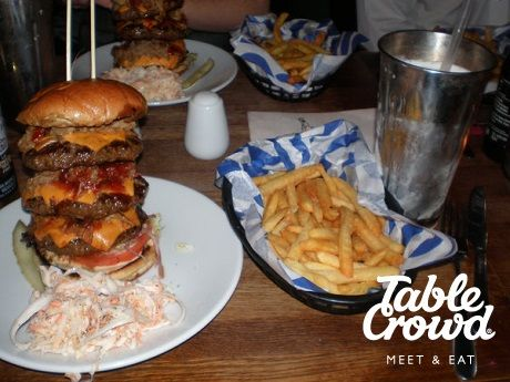 5 of the best Man vs. Food challenges in London. Red Dog Saloon, Hoxton!