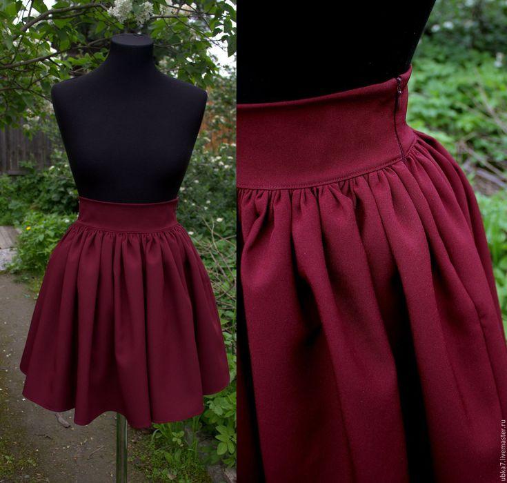 Купить Юбка пышная - комбинированный, юбка, юбка пышная, юбка колокол, юбка короткая