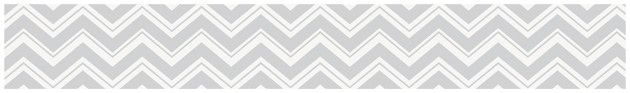 "Zig Zag 15' x 6"" Chevron Border Wallpaper"