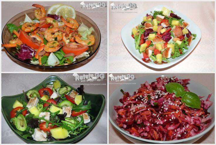 Retete gustoase si garnisite: 10 retete de salate sanatoase