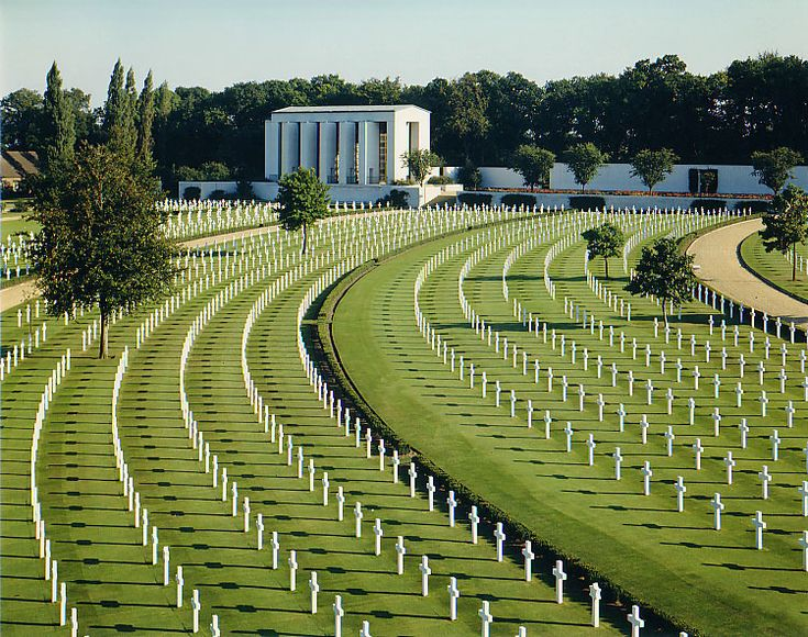 Tread with awe and respect around the Cambridge American Cemetery at Madingley.